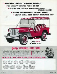 1959 Willys Jeep Surrey