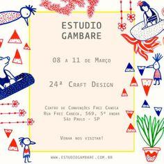 [ Março   2014 ]  Participação na Feira Craft Design em São Paulo.