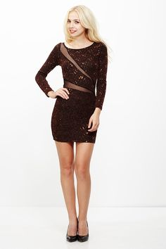 3e05ae3c04 Sparkle in His Eye Metallic Sequin Dress only  29.99