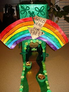 Leprechaun Trap - Allie wants to make one of these!