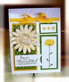Me, My Stamps and I: Daisy Delight