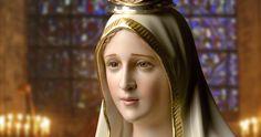 Tus ojos nos transmiten la paz que recibes de tu Hijo y Tu belleza nos acerca más a Él oh María!