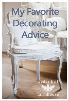 Fave decorating advice