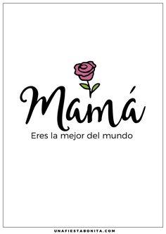 dia de la madre cartelitos gratis