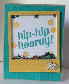 Shaker Card made by Mackenzie Fuchs  http://www.do-all-things.com/stampin-up-cards/shaker-card-stars-weekly-challenges/