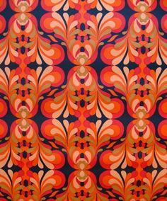 CUSTOM LISTING for - vintage wallpaper - red orange fire spurts on black - final two yards Vinyl Wallpaper, Cool Wallpaper, Pattern Wallpaper, Wallpaper Backgrounds, Iphone Wallpaper, Wallpapers, Disney Wallpaper, Wallpaper Ideas, Wallpaper Quotes