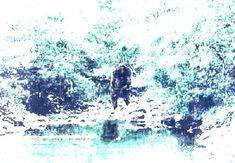 Bigfoot Evidence: Photo Of The Day: Enhanced Photo Of Bigfoot In Texas (Update: Original photo found) Bigfoot Photos, Lago Ness, Strange Beasts, Finding Bigfoot, Bigfoot Sightings, Mysteries Of The World, Bigfoot Sasquatch, Mothman, Weird Creatures
