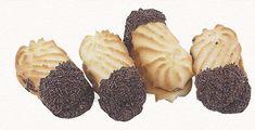 Συνταγή για φανταστικά βουτήματα γεμιστά με μαρμελάδα βουτηγμένα σε γλάσο σοκολάτας! Greek Recipes, Desert Recipes, Cookie Dough Pie, Greek Cookies, Greek Sweets, Greek Easter, Cheesecake Brownies, Fruit Drinks, Sweetest Day