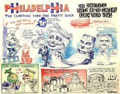 DNC: Day 1 Matt Wuerker/POLITICO