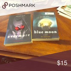 Two books out of the immortals series Two of Alyson noël books of the immortal series Other