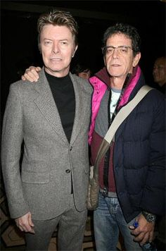 David Bowie + Lou Reed  Icons