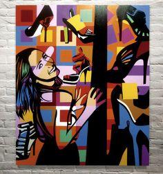 SHOE LOVERS | FRANCESCA MONFRINATTI | LOBO | POP ART www.lobopopart.com.br