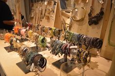 #Bracelets on display at Madewell Santana Row. #shopping #jewelry