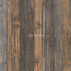 tapete -> 9086-12 Wood'n Stone - AS Creation Vliestapete Holz-Imitat braun