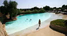Piscina - Servizi - MASSERIA TORRE COCCARO Hotel 5 stelle lusso in Puglia