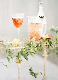 Cocktail servers: http://www.stylemepretty.com/little-black-book-blog/2015/05/06/colorfully-organic-glamper-wedding-inspiration/ | Photography: Carrie King - http://www.carriekingphoto.com/