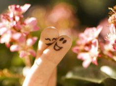 In love fingers
