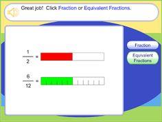 Nyla's Crafty Teaching: Free Interactive Websites for Fractions Teaching Fractions, Math Fractions, Teaching Math, Teaching Ideas, Multiplication, Teaching Tools, Math Strategies, Math Resources, Math Activities