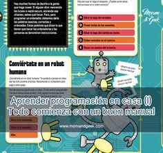 Aprender programación en casa, todo empieza con un buen manual MomandGeek