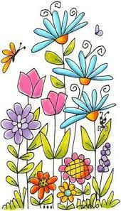 Image result for simple garden illustration plate