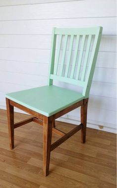 vintage wood side chair (Farm Store)