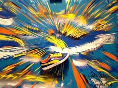 Puma Yellow speed by GabyGaby Art, via Flickr