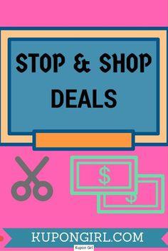 Stop and Shop Deals! | Kupon Girl