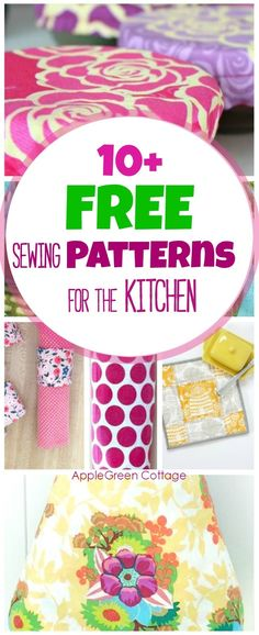 Free-Sewing-Patterns-For-Kitchen-Pin03.jpg (653×1600)