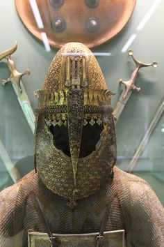Armor Porn — Indian (Maratha) Helmet and Armor from Hermitage...