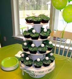 love this for a little guy's birthday party or father's day celebration!