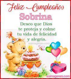 Spanish Birthday Wishes, Happy Birthday Clip Art, Happy Birthday Celebration, Happy Birthday Wishes Cards, Happy Birthday Pictures, Birthday Blessings, Birthday Thank You, Happy B Day, Alexandra Fernandez