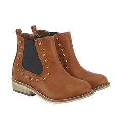 Mothercare Studded Ankle Boots I Love My Daughter, Studded Ankle Boots, Brand Me, Edgy Look, Little Girl Fashion, Shoe Boots, Shoes, Chelsea Boots, Little Girls