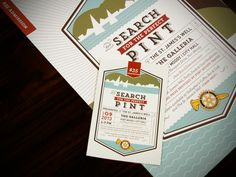 The Search for the Perfect Pint ~ Frame & Follie Design Co.