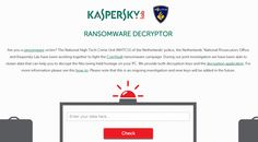 Kaspesky releases tool to fix remove CoinVault RansomwareSecurity Affairs