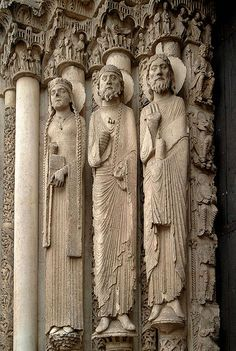 Chartres Cathedral.... the Central tympanum,  Chartres, France
