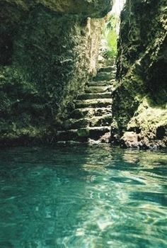 Passage to Underground River in Playa del Carmen ~ Yucatan, Mexico Places Around The World, Oh The Places You'll Go, Places To Travel, Places To Visit, Dream Vacations, Vacation Spots, Maui Vacation, Adventure Is Out There, Wonders Of The World