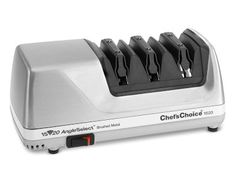 Chef'sChoice 1520 Electric Knife Sharpener.                                                                            My next purchase.