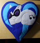 DJ Pon3 pillow... Gonna make this with ALL the ponies!