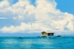 speed painting/Im Seung Hyuk/40min./cloud and sea