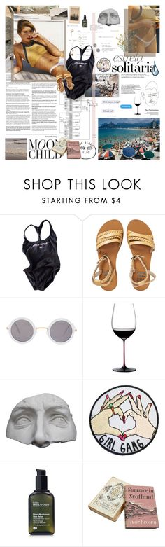 """""""[ BBW ] IT'S REALLY YOU ON MY MIND."""" by whiteshvdows ❤ liked on Polyvore featuring Strange Days, GET LOST, Kenneth Cole, Billabong, ASOS, Riedel, Romanelli and Origins"""