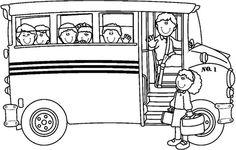 free school bus coloring page - Enjoy Coloring