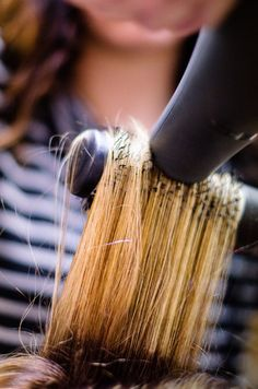 Toledo Commercial Photography   Hair Stylist   Hair Salon   Blowdryer   Brush