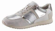 Geox »D Deynna« Sneaker, mit Snake-Prägung für 79,99€. Sportiver Halbschuh mit Metallic-Einsätzen und Reptil-Prägung bei OTTO