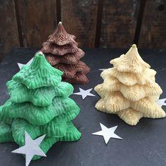 kerstbomen van chocolade
