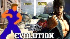 HOKUTO NO KEN (FIST OF THE NORTH STAR) GAMES - EVOLUTION (1986 - 2018) -...