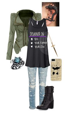 """""""Music Inspired: I'll Make a Man Out of You from Mulan"""" by jchalo3 ❤ liked on Polyvore featuring Rachel Roy, rag & bone, Tory Burch, CellPowerCases, women's clothing, women, female, woman, misses and juniors"""