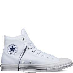 Chuck Taylor All Star II White/White/Navy white/white/navy
