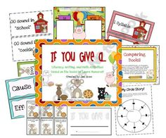 TONS of Laura Numeroff Literacy and math activities