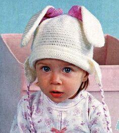 Забавная шапочка Зайка