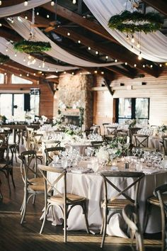 elegant barn wedding reception ideas #wedding #weddingideas #barnwedding
